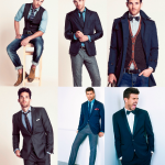 How to combine shirts and suits with ties