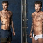 David Beckham launches first swimwear