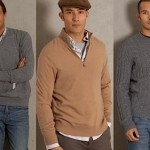 Sweater: round neck or V-neck, eternal conflict!