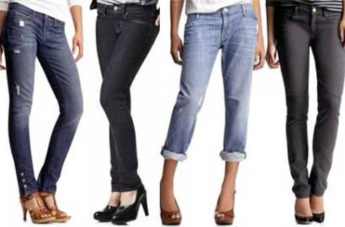 choose jeans according to figure