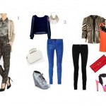 What to Wear? garments in metallic colors
