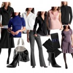 Basic modern clothing for office