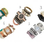 Combine watches with bracelets
