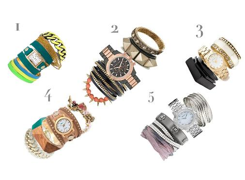 watches with bracelets