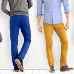 How to wear colored jeans?