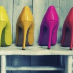 Tips to use high heels in vibrant colors