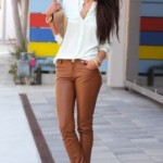 How to wear brown trousers