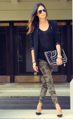 Ways to wear camouflage pants – Fashion Spreads