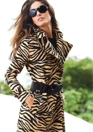 use zebra print