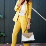 6 ways to make a pantsuit look feminine