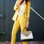 6 ways to make a pantsuit look feminine