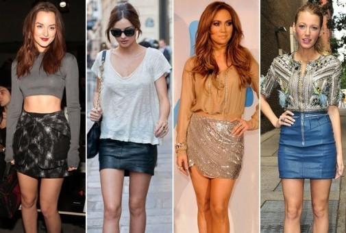 using miniskirt
