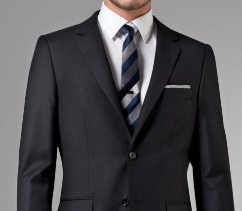 wearing suits