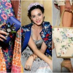 Accessories with floral print for a fresh and fun look