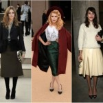 How to wear skirts in winter