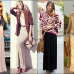 Tips to wear long skirt even if you are petite