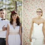 Bridal makeup with glasses and how to choose the perfect glasses for your wedding