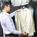 When buying a suit…