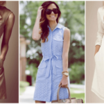 How to wear shirt dresses this season