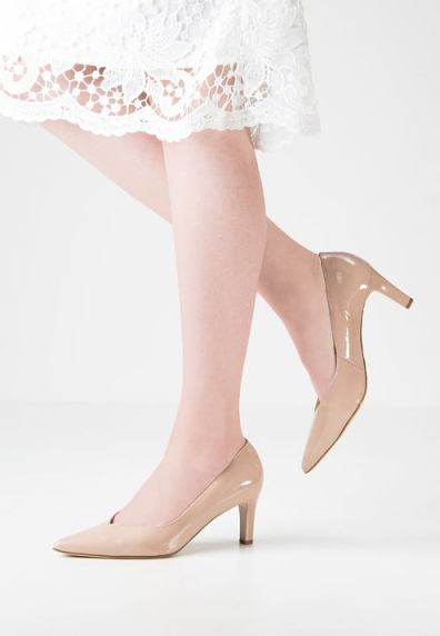 shoes in nude colors